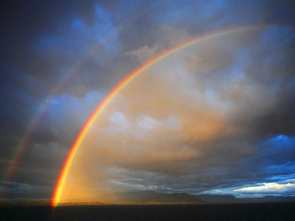 wallpaper see rainbow - photo #13