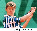 Roger Federer en 1996