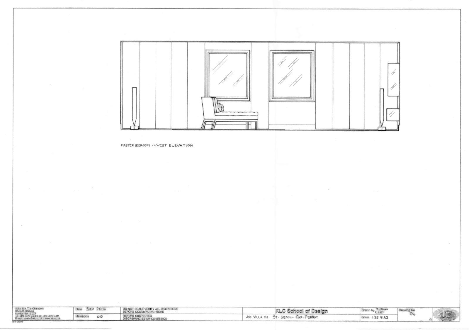 Siobhan casey portfolio 1 for Window elevation