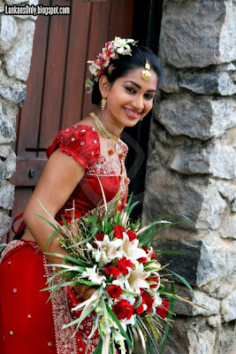 Srilankan Actress Chamalsha Dewmini Sexy Bridal  photos