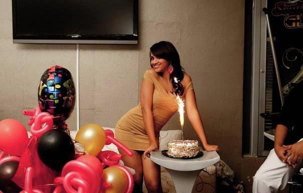 Srilankan Sexy  bomb Himashi Ekanayakes Birthday hot photos