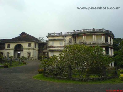 photograph of hill palace of kerala cochin