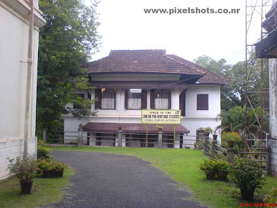 archaeological department building working in hillpalace of kerala cochin
