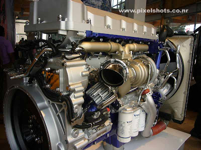 d13 engines from volvo,latest engine technology from automobile giant volvo, volvo engines, american disel engines, automobile technology exhibition