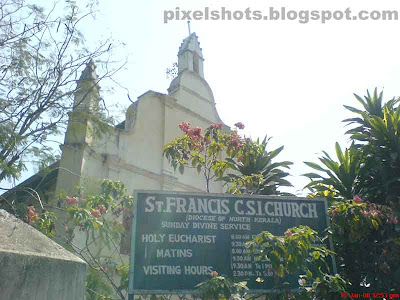 oldest and the first church built by portuguese in india kerala,st framcis church photo from fort cochin