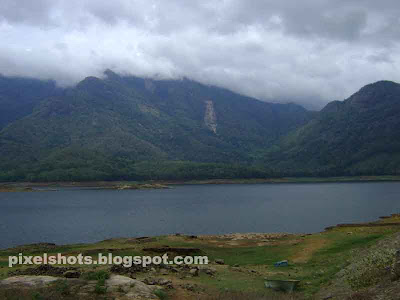 scenic view of the river dam from kerala india,small river irrigation project in palakkad district of kerala state poothundi