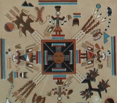 native american sand painting, sand art, sand painting