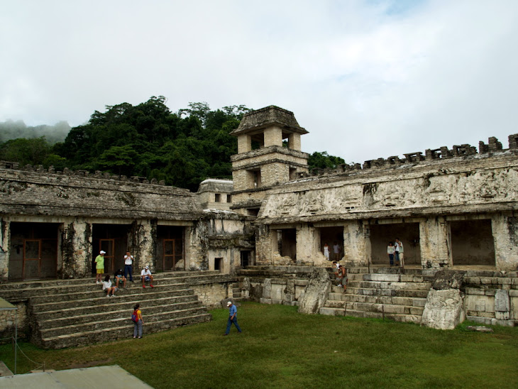 The Palace At Palenque Mexico