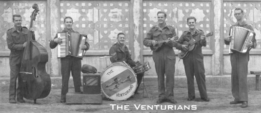 The band of a SAAF squadron - Click on the picture to hear them.