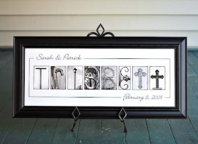 name frame, name frames, alphabet art, wedding gift, anniversary gift, bridal shower