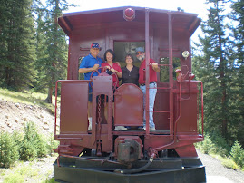 With Mary & Bruce in Leadville, Colorado