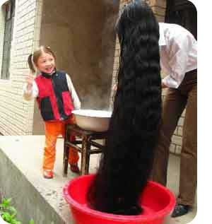 forex: Tallest hair in the world