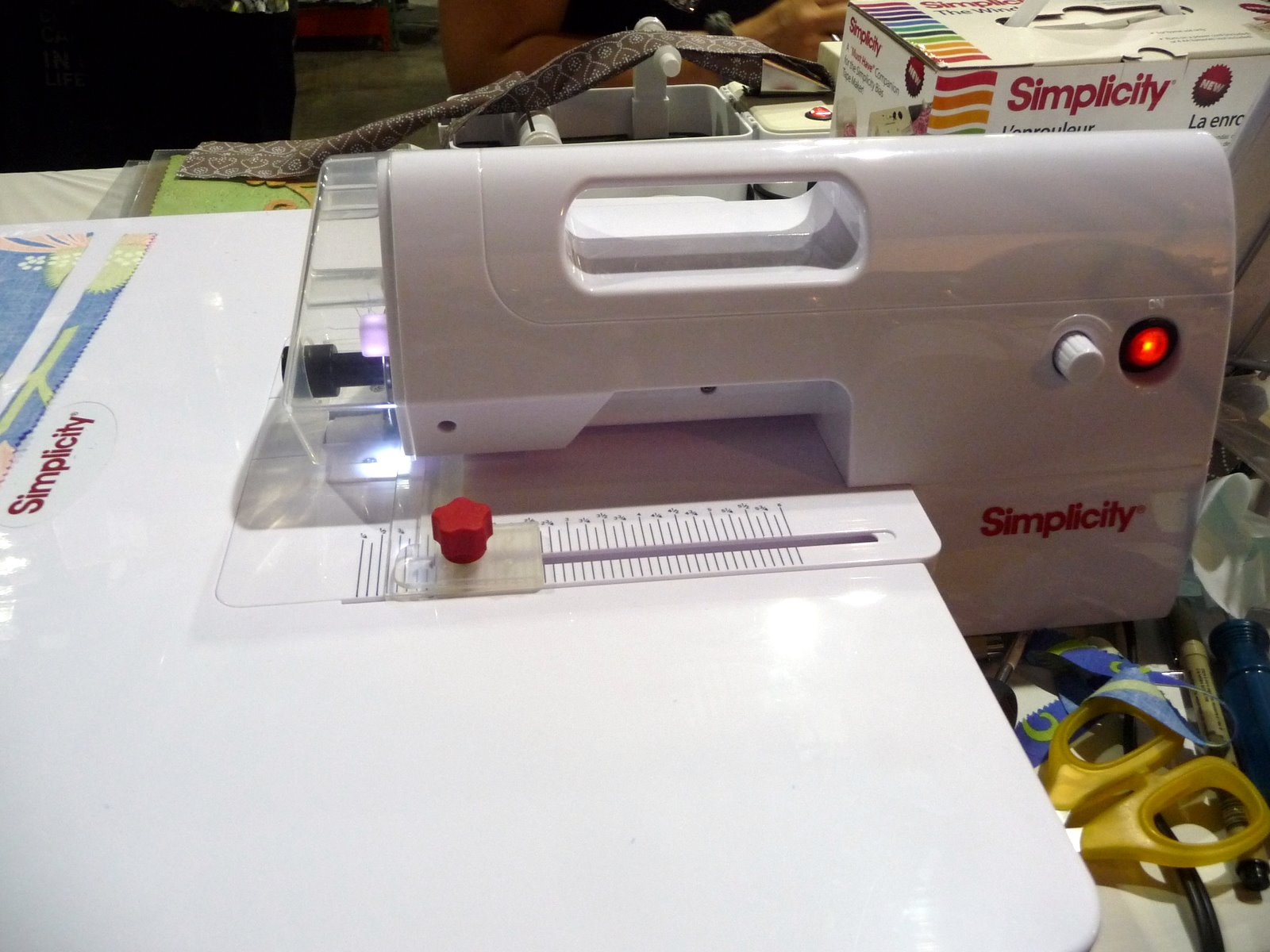 simplicity deluxe rotary cutting machine