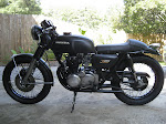 Restored 74 Honda 350 Four