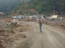 Las cosechas de papa perdidas por el Tsunami