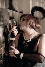 foto de Flor Lista para revista Wicked Mag