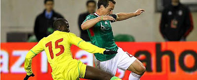Mexico vence a Senegal