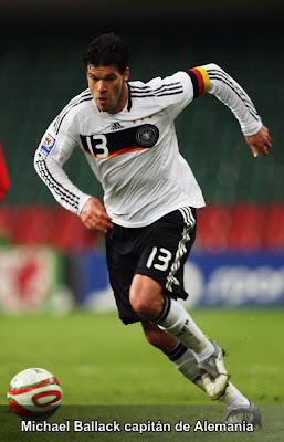 Michael Ballack Chelsea y Alemania
