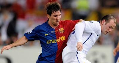 Para Rooney Messi es el mejor