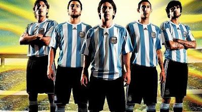 Partido amistoso Argentina vs Haiti
