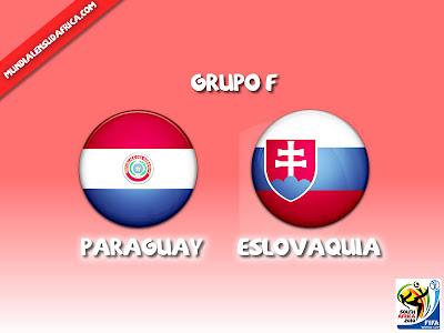 Paraguay vs Eslovaquia en vivo Grupo F