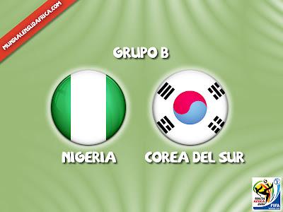 Partido Nigeria vs Corea del Sur