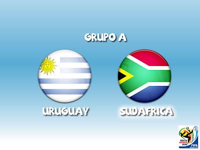 Uruguay vs Sudafrica en vivo Grupo A