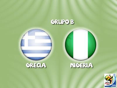 Grecia vs Nigeria Grupo B