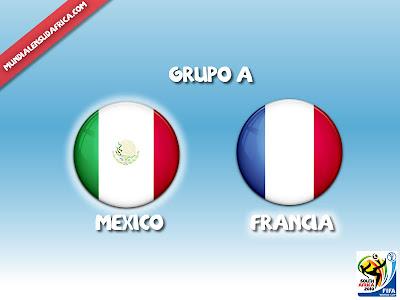 Alineacion titular Mexico vs Francia
