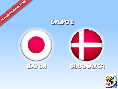 Partido Japon vs Dinamarca Grupo E