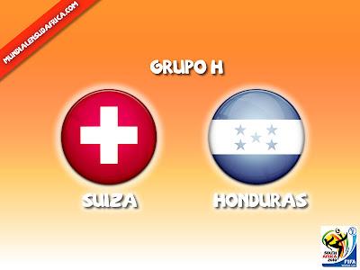 Partido Suiza vs Honduras Grupo H