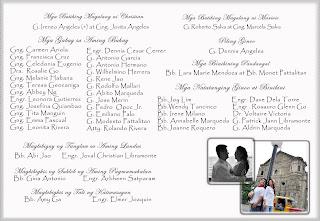 Wedding Invitations Tagalog Wordings