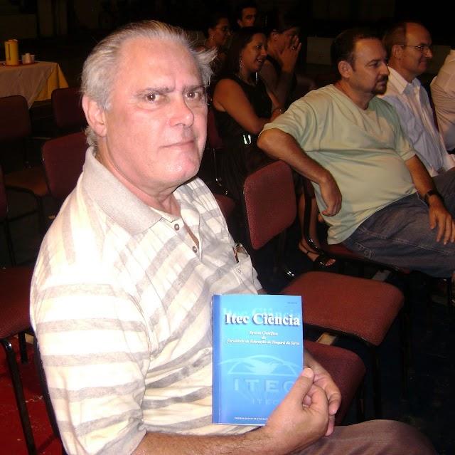 Bastidores do lançamento da revista ITEC Ciências em Tangará da Serra