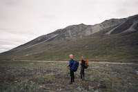 Hiking near the Talkeetna River headwaters