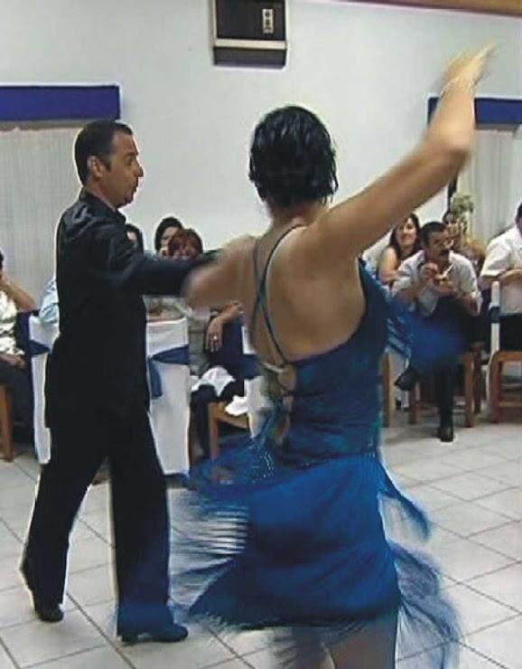 Exibição de Samba