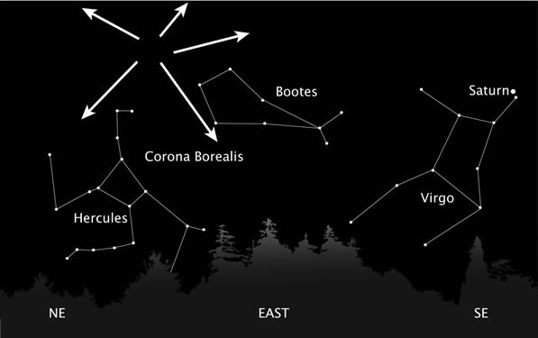 QUADRANTIDS METEOR SHOWER on Jan 4th, 2011
