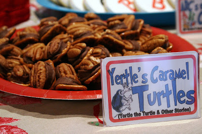 Yertle's Caramel Turtles Dr Seuss Party Food
