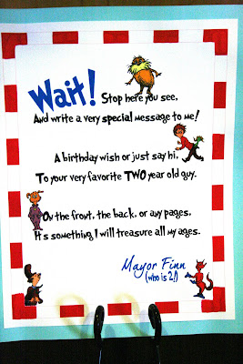 Dr Seuss Birthday Party | {So Wonderful, So Marvelous}
