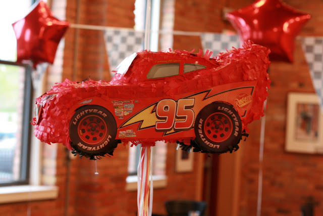 Disney Cars Birthday Party pinata
