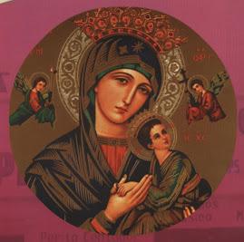 Virgen del Perpetuo Socorro Patrona del Colegio