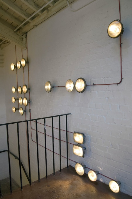 Good church design more diy ideas for the youth room for Industrial interior design lighting