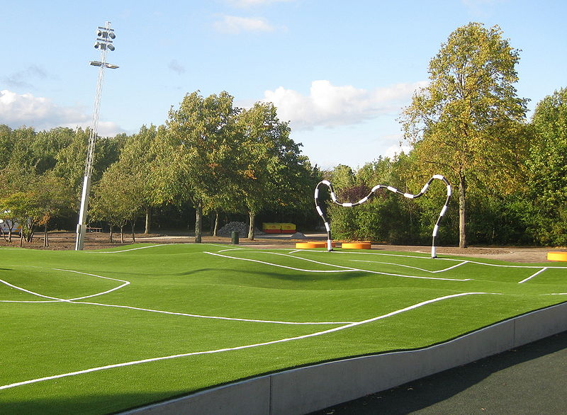 Puckelball Pitch (the world's first!) Johan Strom, Malmö ...