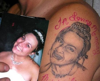 Well I found the gem, the jewel, the world famous worst tattoo having
