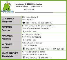 Envío paquetes Ucrania
