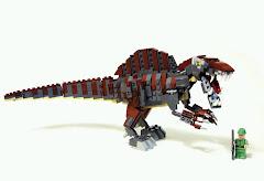 Dinosaurs spinosaurus - Lego dinosaurs spinosaurus ...