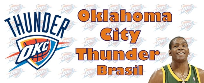 Oklahoma City Thunder NBA Team - Let's go Thunder!