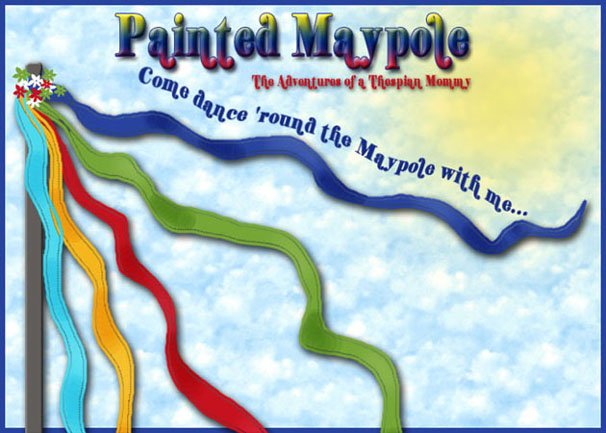 Painted Maypole