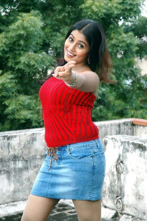 Mini Skirt Shamna Kassim