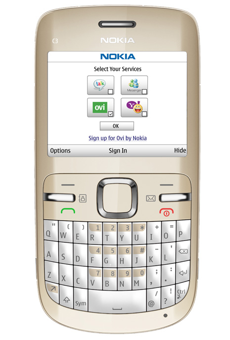 nokia c3  specifications and picture galery