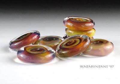 Terra Disk Beads
